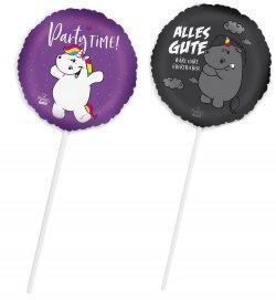 Folienballon, Pummeleinhorn oder Grummel Geschenk Party Dekoration Luftballon Geschenk
