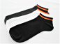Preview: Sneakersocken Fan, weiß, Unisex, Deutschland