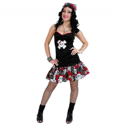 "Piratenkleid "" Black Rose"""