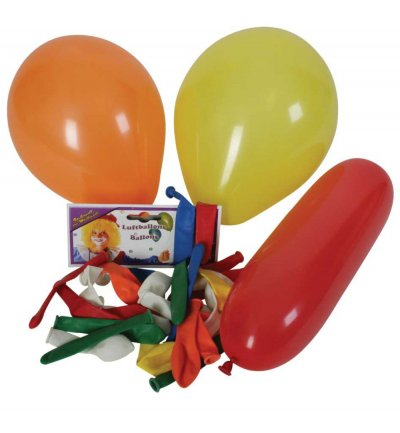 Ballons, sortiert, Inhalt: 30 St., Party, Karneval, Dekoration