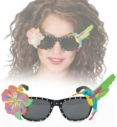 Brille Hawaii, Sonnenbrille, Karneval, Fasching, Mottoparty