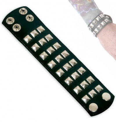 Rocker-Armband, Fastnacht, Party, Karneval, Mottoparty