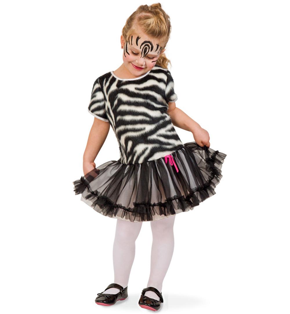 karnevalsteufel kleines zebra kleid schwarz wei gestreift. Black Bedroom Furniture Sets. Home Design Ideas