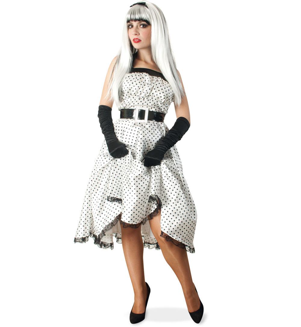 Damenkostum Kleid Conny Rockabilly 50er Jahre Karneval Fasching