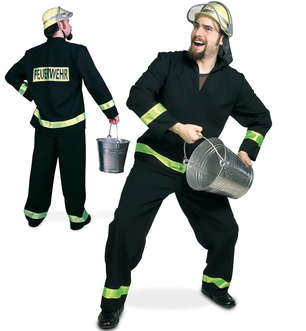 Herrenkostum Feuerwehr Firefighter Feuerwache Brandwache Berufe