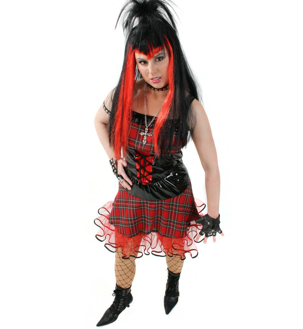 Sexy Punk Rockerin Karnevalsteufel De