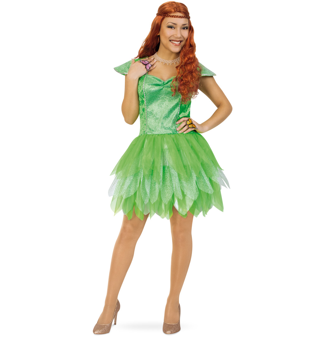 Damenkostüm Elfe Elfenkostüm Fee Feenkostüm Karnevalsteufelde