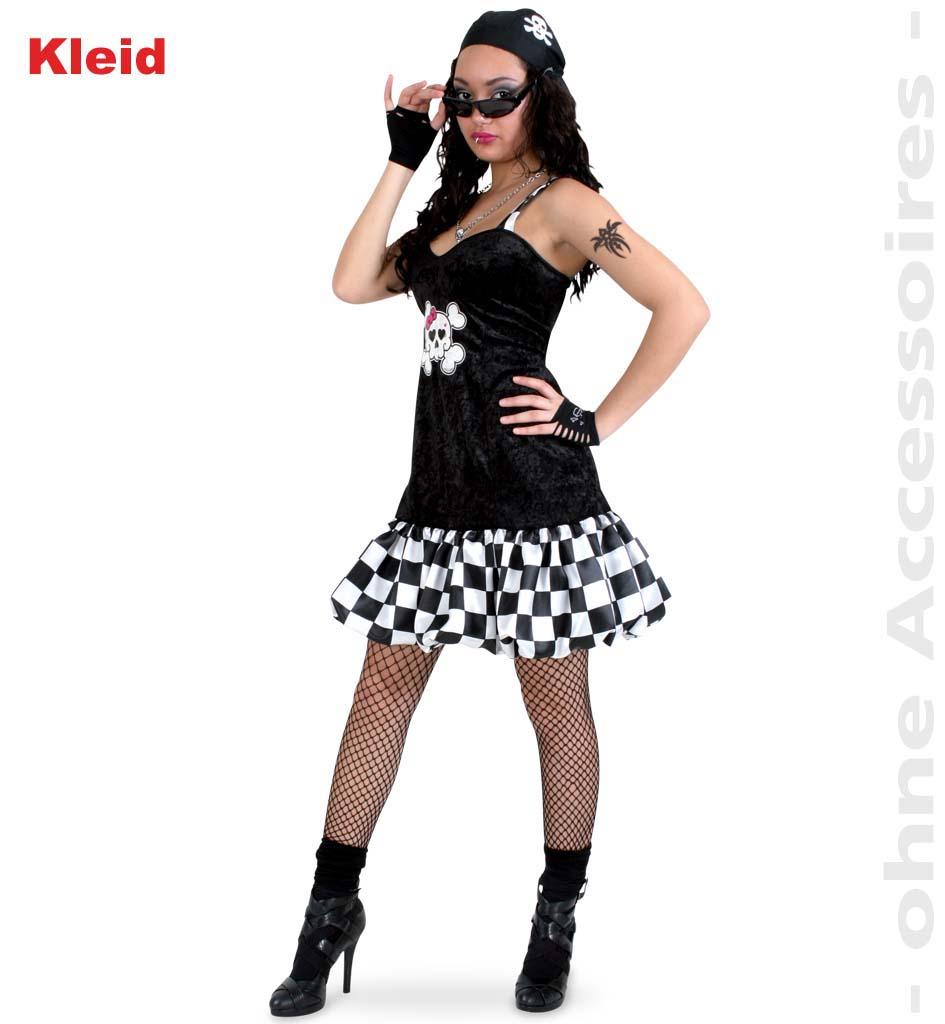 halloweenkleid mit totenkopf motiv f r erwachsene halloween karneval mottoparty. Black Bedroom Furniture Sets. Home Design Ideas
