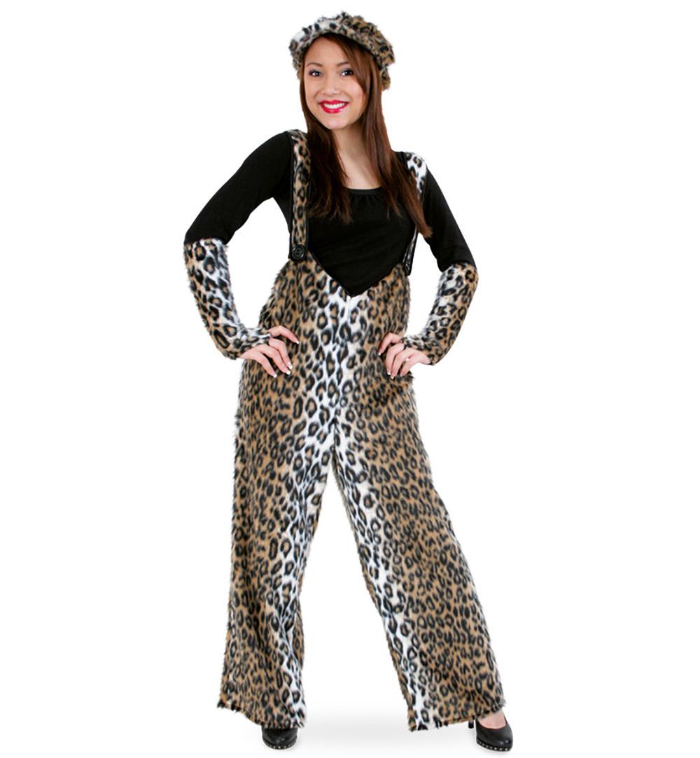 leopardenkost m pl schhose leo f r erwachsene. Black Bedroom Furniture Sets. Home Design Ideas