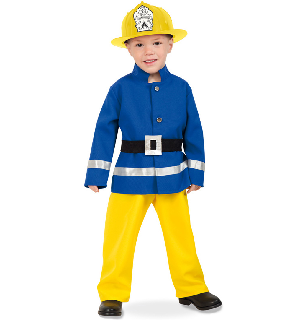 Feuerwehr Mann Verkledung Kostum Kinder Karneval Fasching