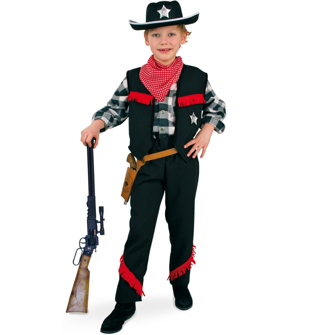 kinderkost m cowboy f r jungs karneval fasching. Black Bedroom Furniture Sets. Home Design Ideas