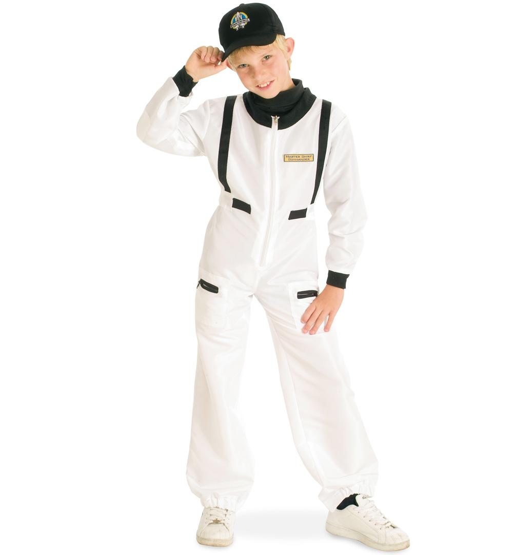 Kinderkostum Astronaut Anzug Mit Mutze Fasching Karneval
