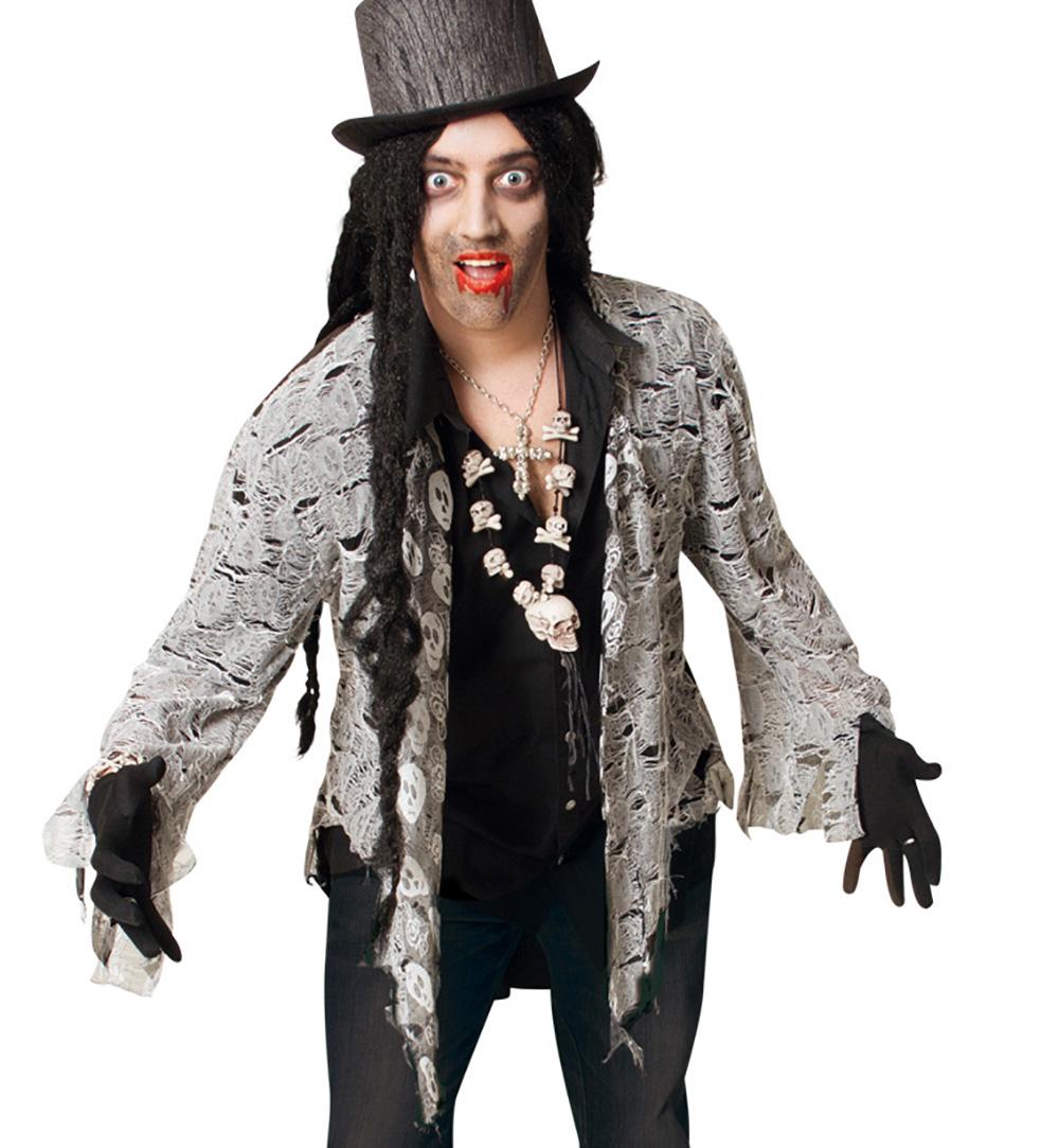 Herrenkostum Zombie Frack Fasching Karneval Mottoparty