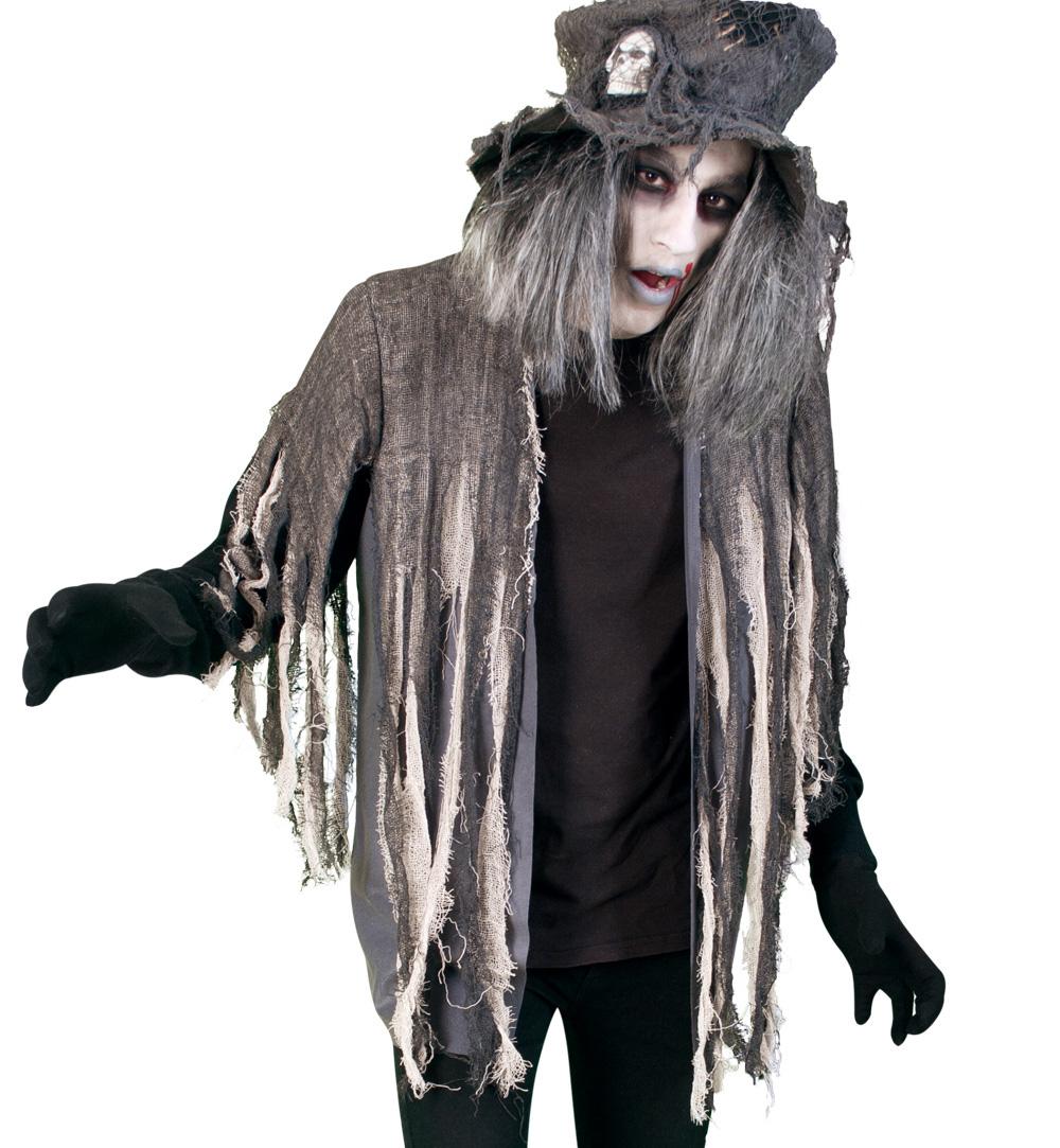 Herren Damenkostum Zombie Oberteil Fasching Karneval