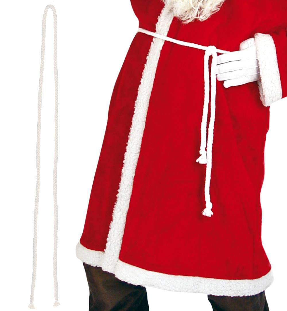nikolausmantel aus pl sch f r erwachsene weihnachten weihnachtsmann. Black Bedroom Furniture Sets. Home Design Ideas