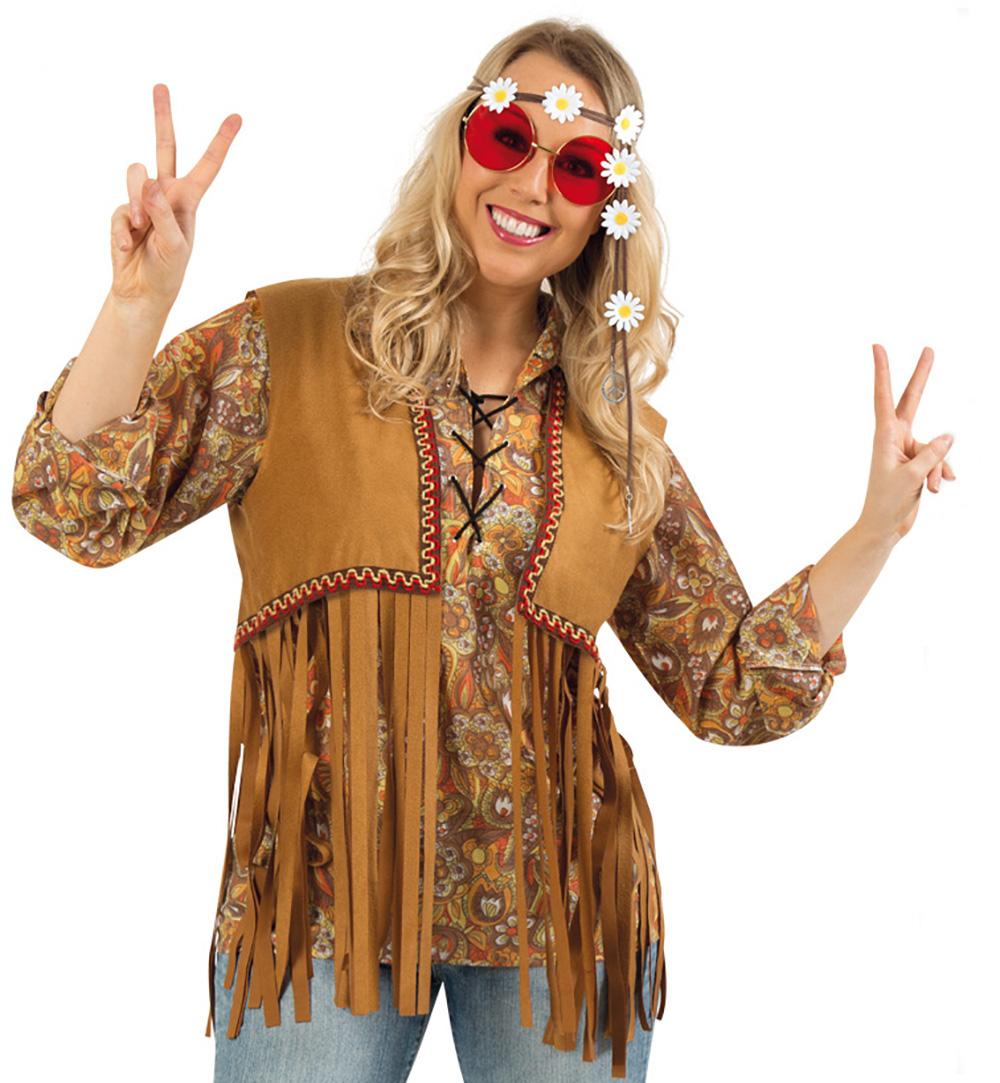 e0092ea44c178a Kostüm-Set Hippie für Erwachsene