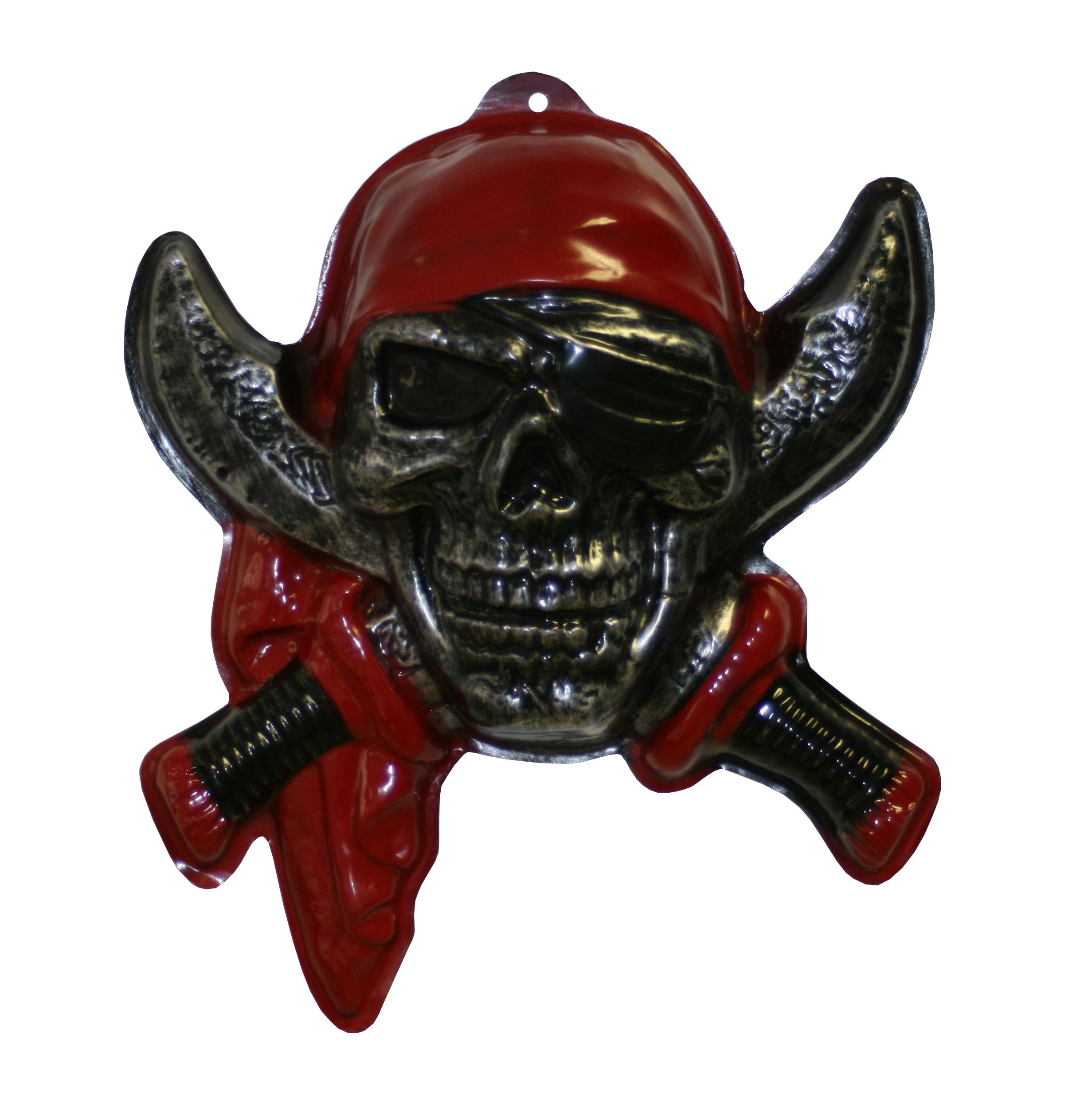 Pirat Wanddeko Halloween Karneval Mottoparty