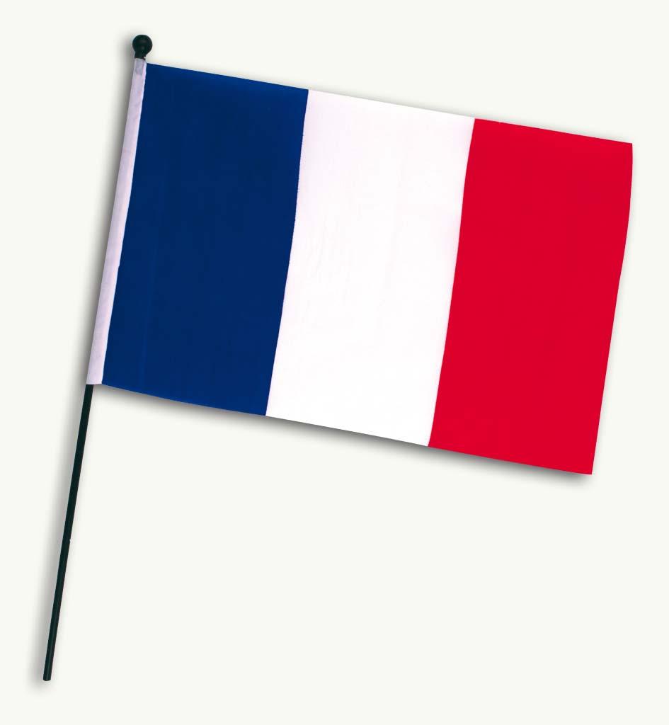 Flagge Frankreich, Ca. 30 X 45 Cm, WM, EM