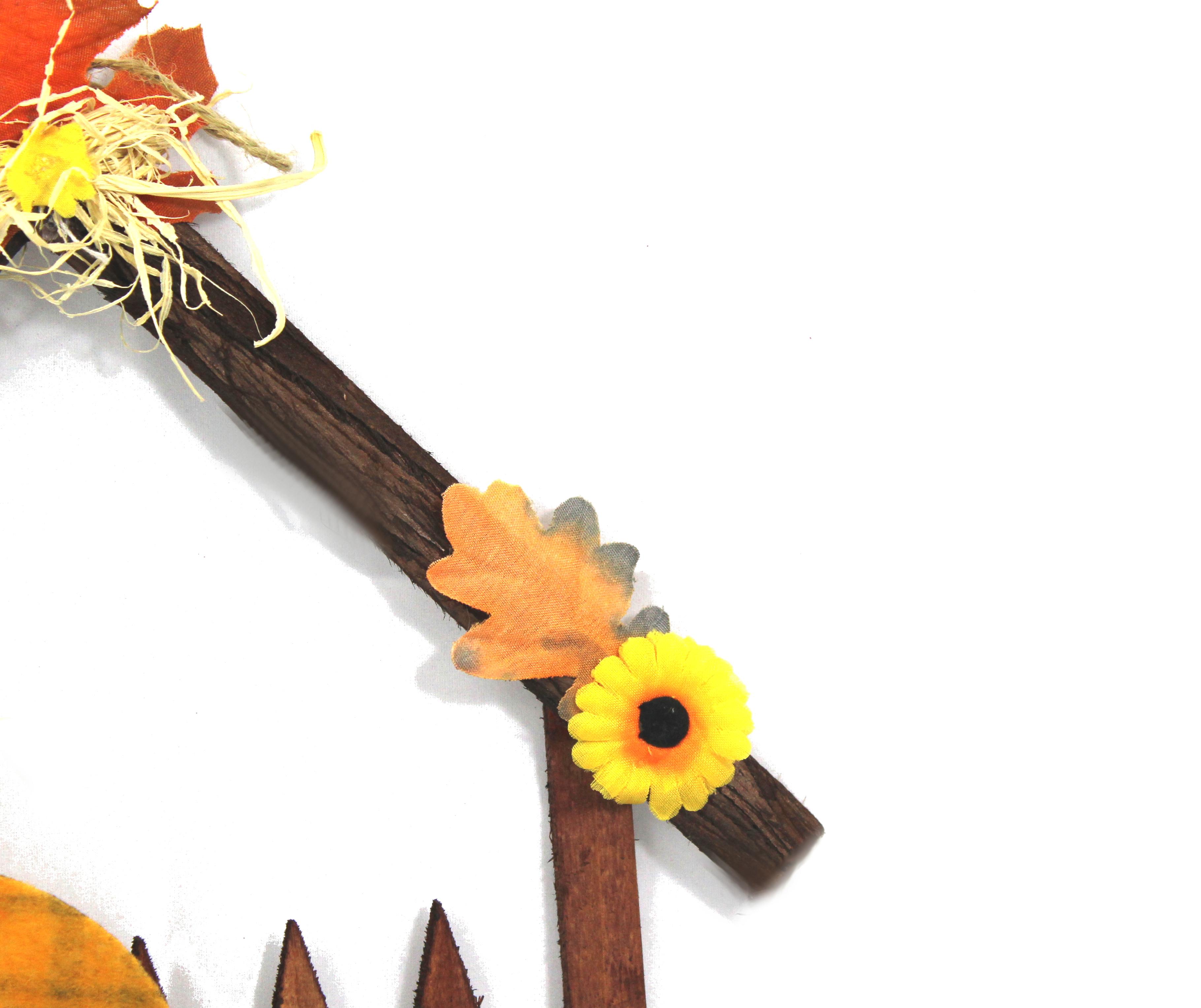 Vogelscheuche im haus sortierte farben halloween herbst for Mottoparty deko