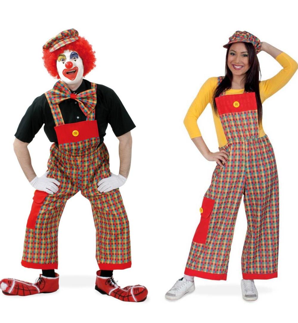 100% hohe Qualität meistverkauft Sonderpreis für Latzhose Pebbu Clownhose Accessoire für Clownkostüm Spaß Fun ...