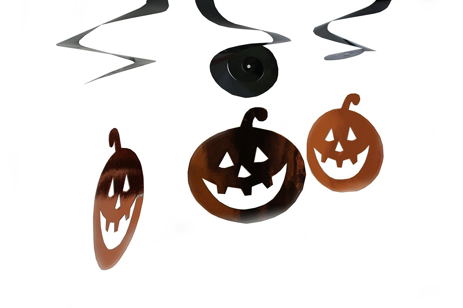 Halloween deko 3er set sortiert l nge ca 60 cm for Mottoparty deko