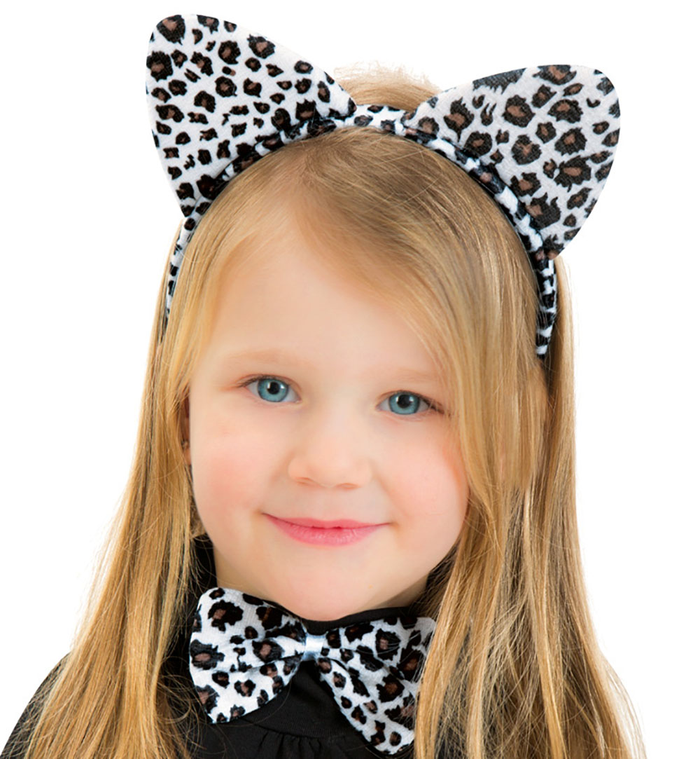 Kostüm Zubehör Set Leopard Karneval Fasching Mot