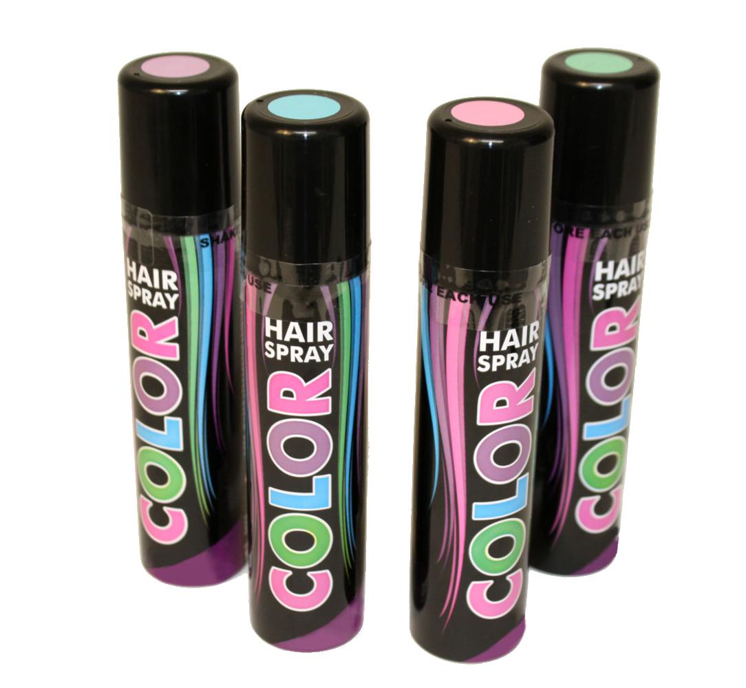 Haarspray Pastell Töne Spray Für Die Haare Grün Lila Rosa Blau