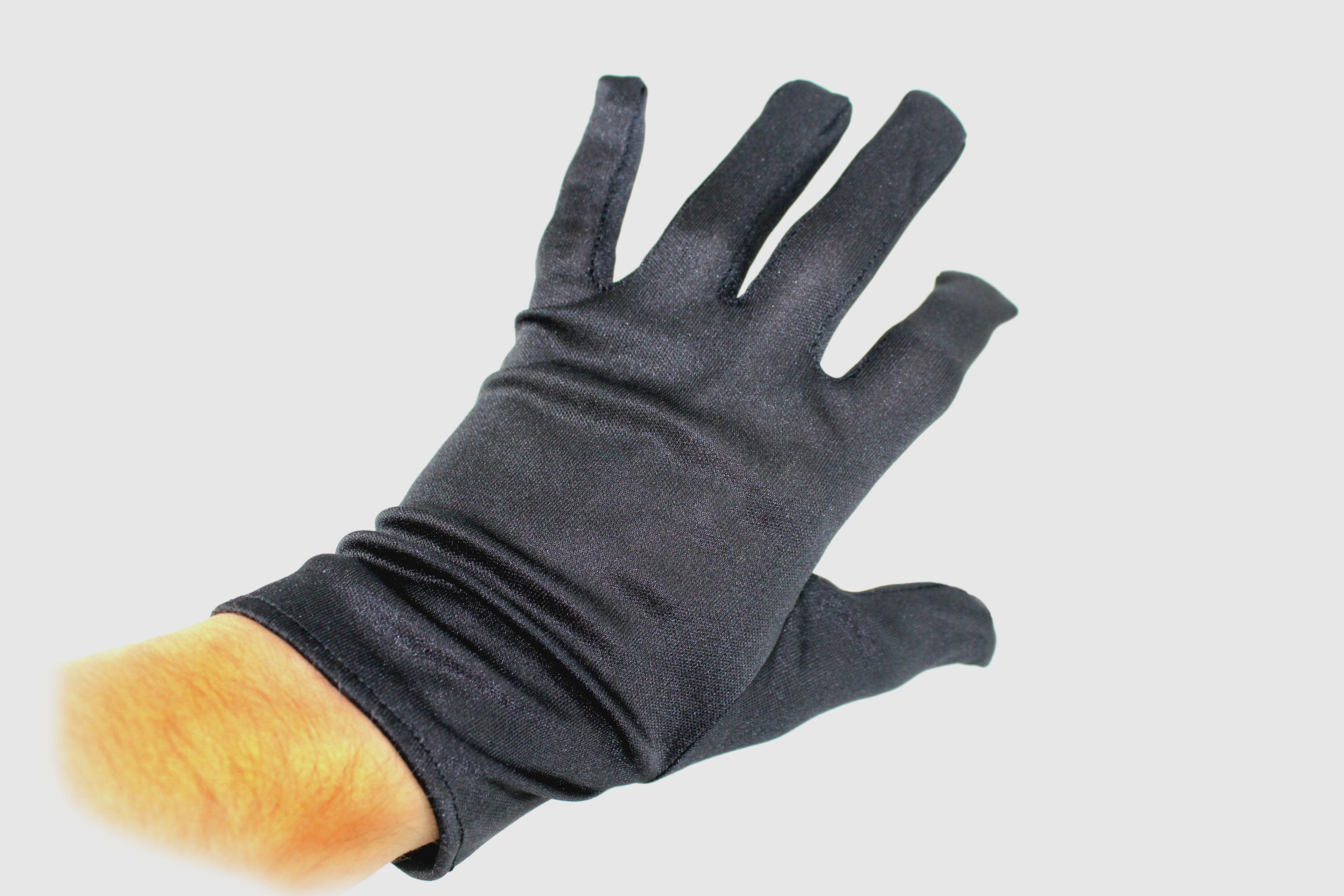 handschuhe schwarz mit finger halloween karneval. Black Bedroom Furniture Sets. Home Design Ideas