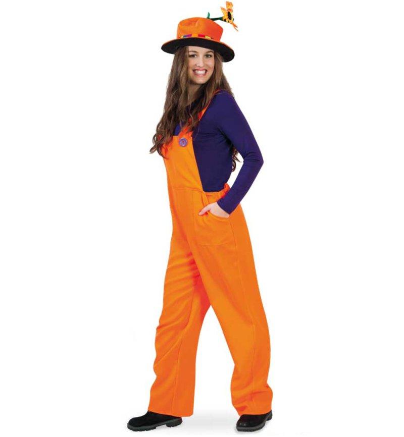 Karnevalsteufel Kostum Latzhose Handwerker Bauarbeiter Gartner