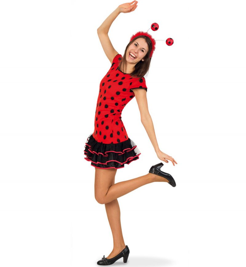 Lady Bug, Karneval, Fasching, Mottoparty