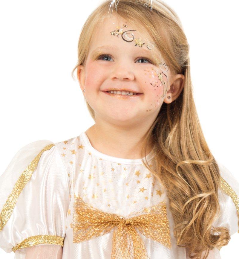 Kinderkostum Engel Kleid Ohne Flugel Weihnachten Christkind Gr