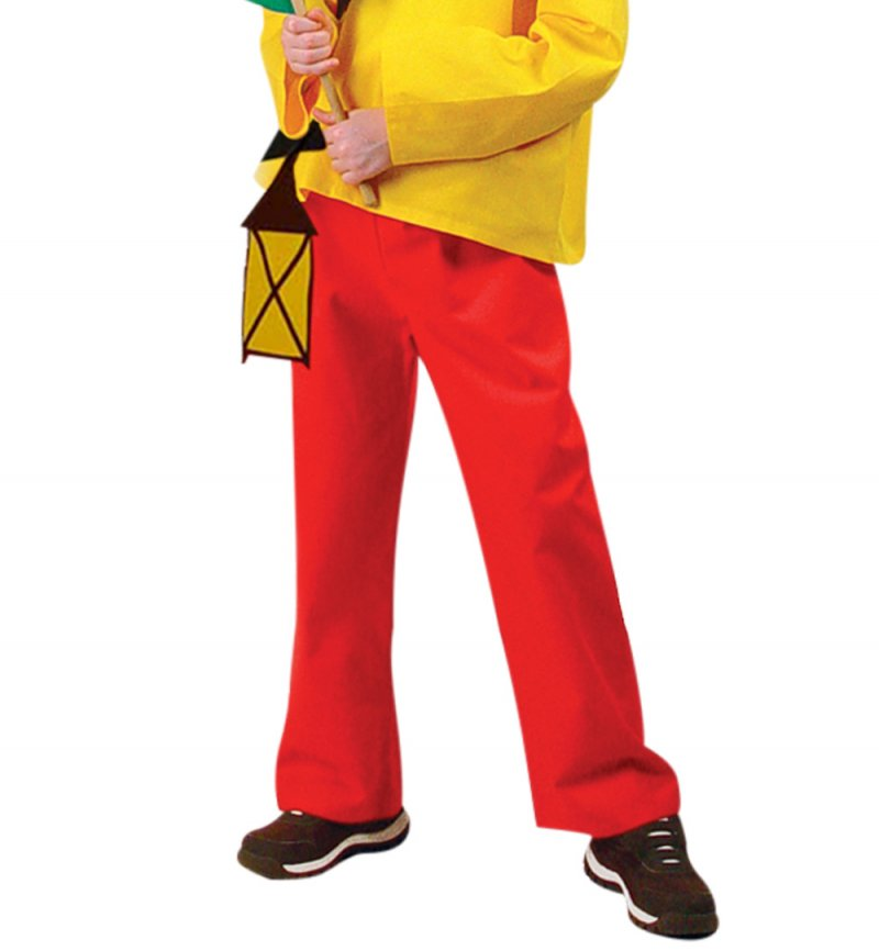 Kinderkostum Zwerg Purzelbaum 4 Teiliges Zwergenkostum Rot Gelb