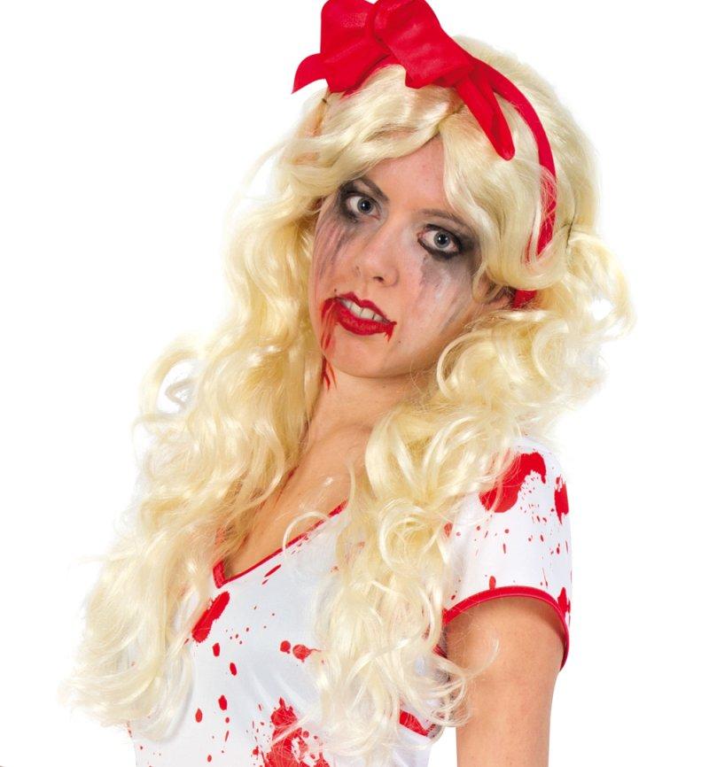 Damenkostum Bloody Lady Horror Krankenschwester