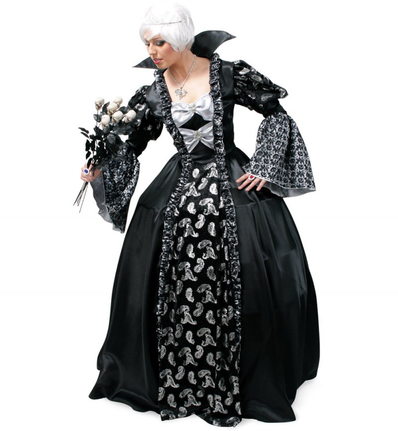 "Damenkostüm ""Dark Princess"", Kleid (ohne Reifrock), Karneval, Fasching, Mottoparty"