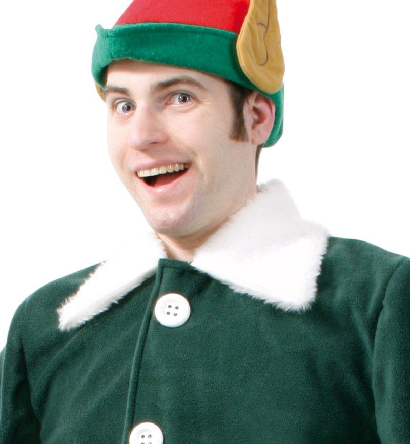 kost m weihnachtself f r erwachsene 2 tlg oberteil mit g rtel und hose gnom zwerg weihnachten. Black Bedroom Furniture Sets. Home Design Ideas