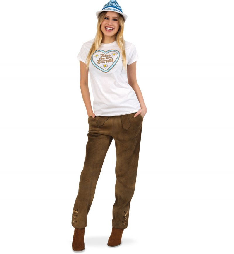 Damen T-Shirt Oktoberfest, Wiesn