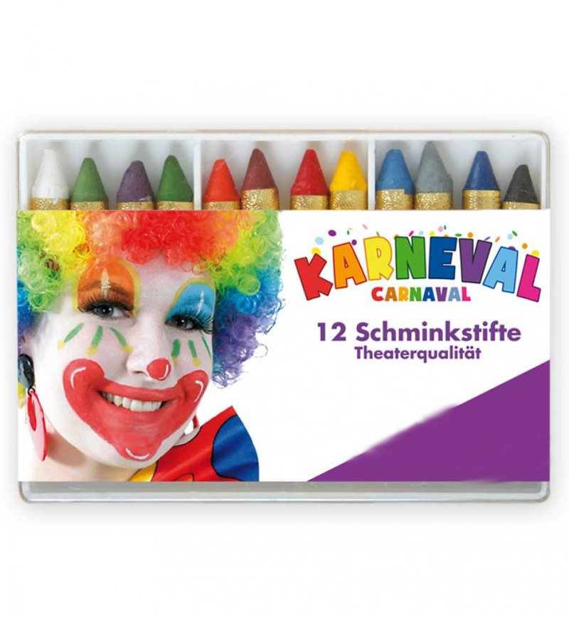 schminkstifte fries karneval schminke theater make-up