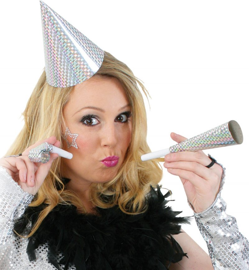 Party-Paket Silvester, gold und silber sortiert, Party, Silvester, Karneval