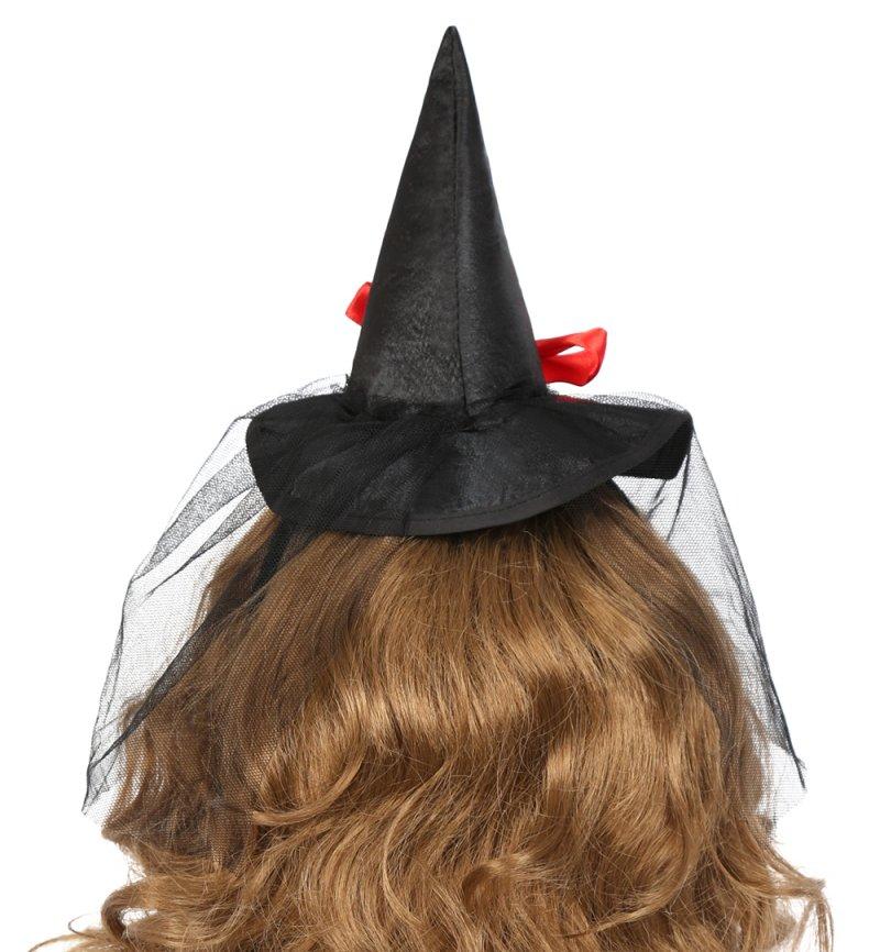haarreif mit hexenhut in drei farben erh ltlich f r erwachsene halloween accessoire. Black Bedroom Furniture Sets. Home Design Ideas