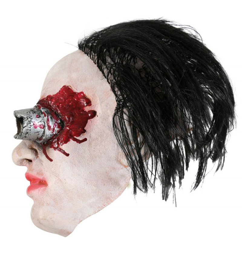 Horrormaske,Latex, Halloween, Karneval, Mottoparty, Horror