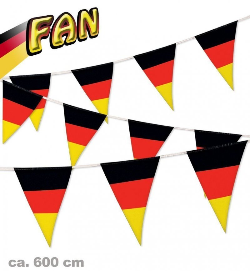 Fan Set, 4-tlg. Deutschland, EM, WM, Fußballparty, Germany, Fanartikel