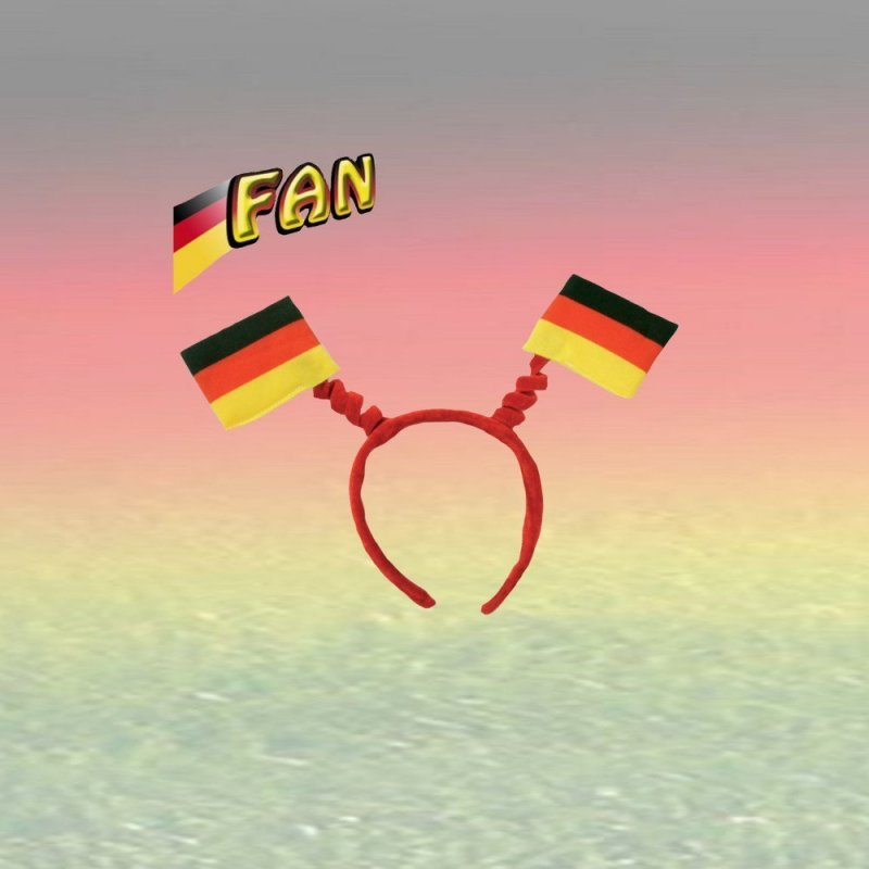 Fan Set, 5-tlg. Deutschland, EM, WM, Fußballparty, Germany, Fanartikel