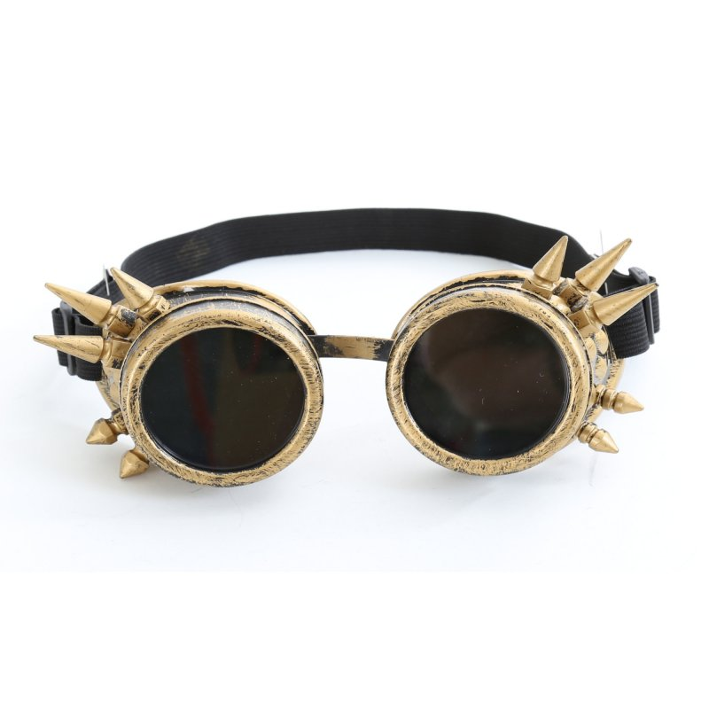 Steam-Punk-Set Zylinder in schwarz Schweißerbrille Kunststil retro Victorian