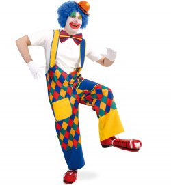Clown Karnevalsteufel De