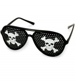 Halloween-Brille Piratenbrille, Halloween, Party, Karneval, Show, Accessoire, Scherzartikel