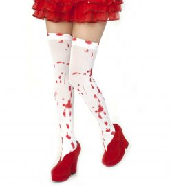 Overknees Horror, Halloween, Party, Karneval, Mottoparty, Deko