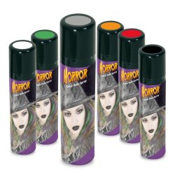 Color Hair-Spray Horror in bunten Farben Haarschmuck Halloween Grusel