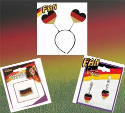 Germany Fan Set 3 Teile, EM, WM